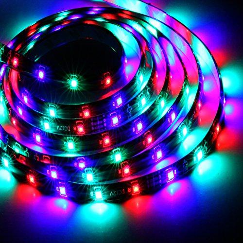5m RGB 3528 SMD LED 300 LEDs Flexible Light Strip - Christmas Decoration Single - Light Optix Three