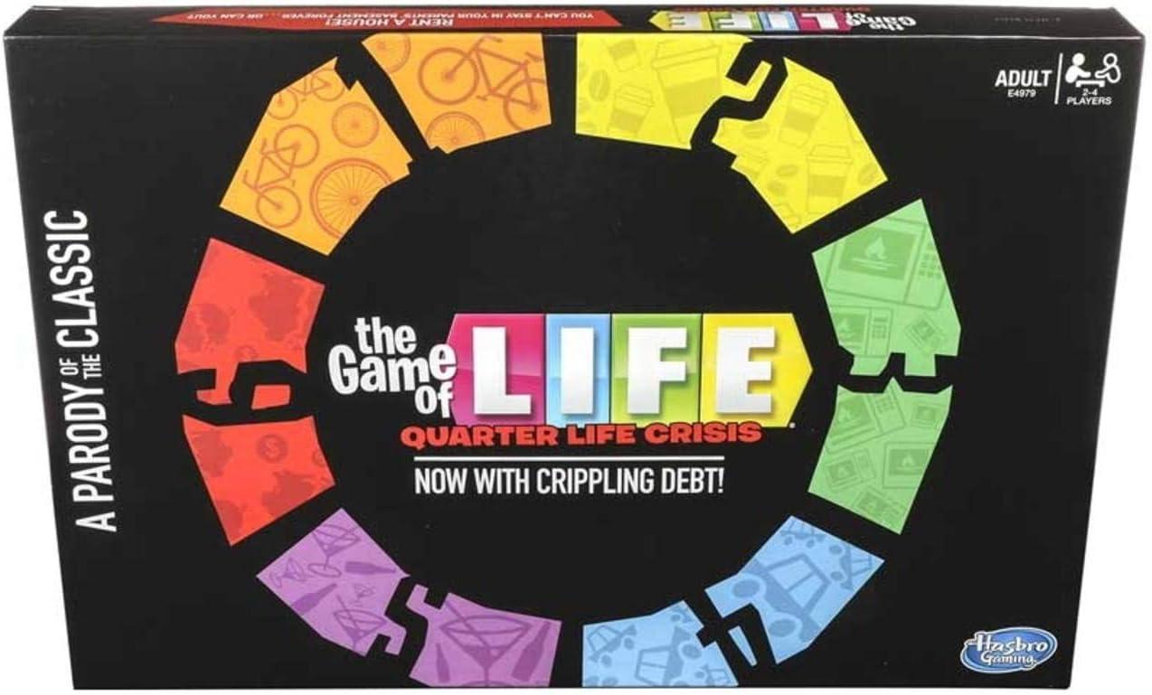 Juego de Mesa The Game of Life: Quarter Life Crisis: Amazon.es ...