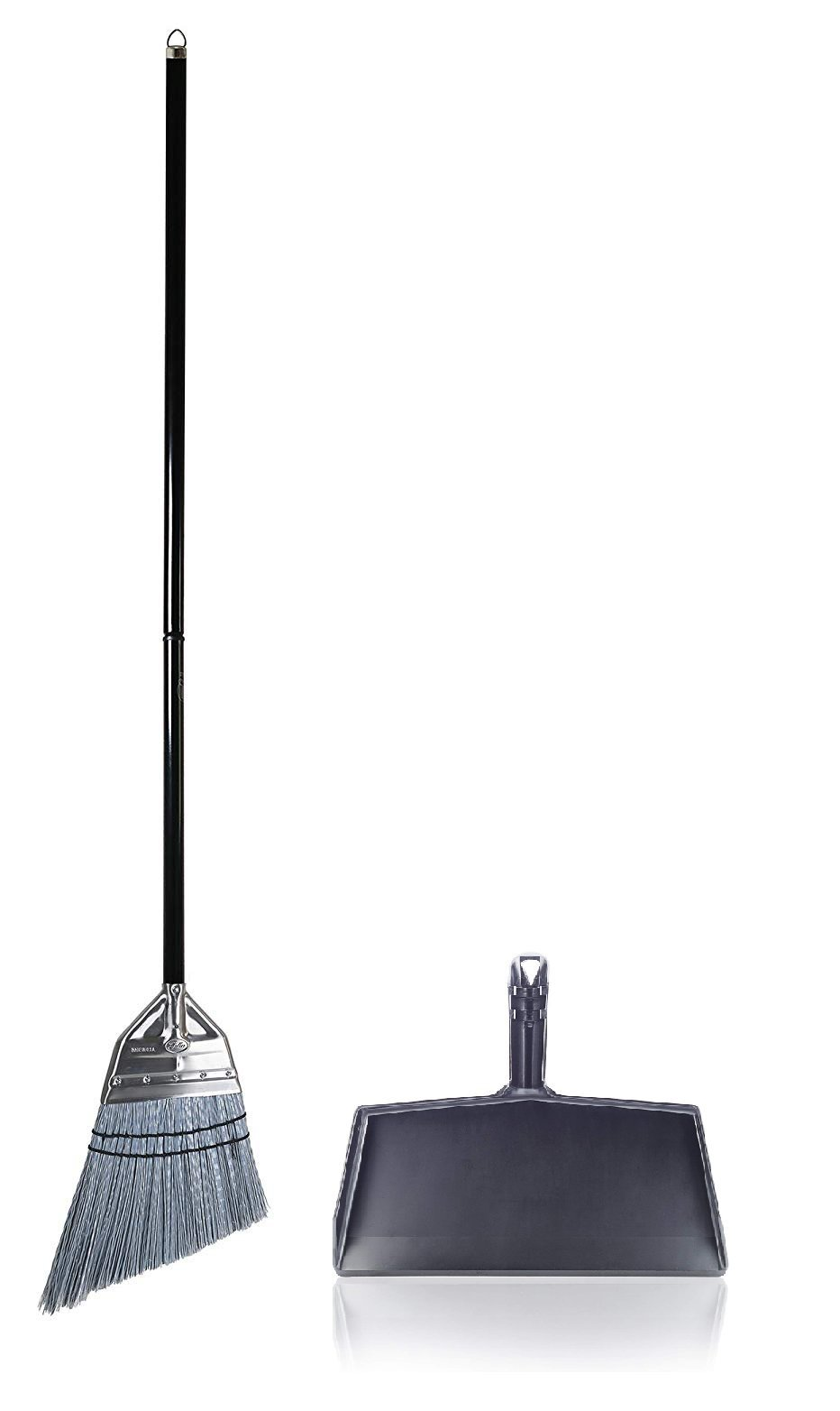 Fuller Brush Angle Broom with Clip-On Dustpan