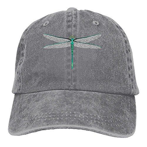 - PMNADOU Dragonfly Denim Baseball Caps Hat Adjustable Cotton Sport Strap Cap for Men Women