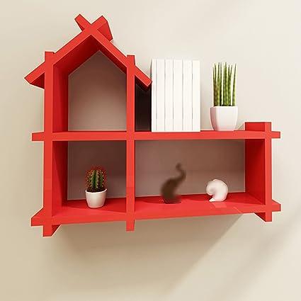 Book Shelf European Wall Living Room Clapboard Home Bookshelf Closet Creative