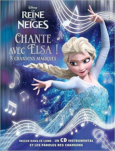amazonfr reine des neiges grand livre cdchansons hachette jeunesse livres - Reine Neiges