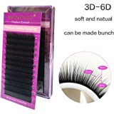 102c2e6fefb NAGARAKU 2D-6D Volume Eyelash Extensions false eyelash Mixed Length B C D  0.07 mm Camellia Eyelash