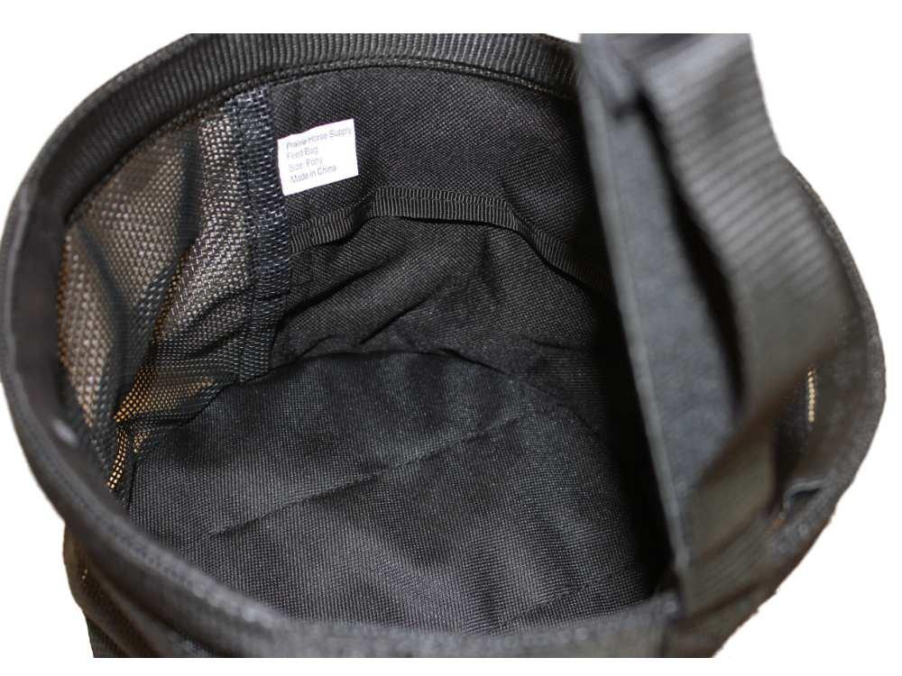 Feed Bag for Horses, Heavy Duty Durable Canvas Grain Feedbag Size: Medium (Horse) by Prairie Horse Supply (Image #3)