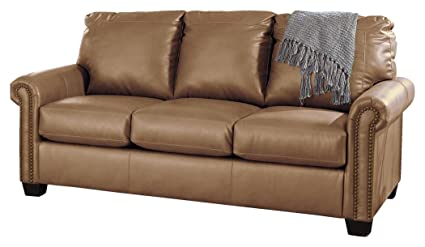 Astonishing Signature Design By Ashley Lottie Durablend Sleeper Sofa Full Almond Download Free Architecture Designs Embacsunscenecom
