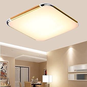floureon 30w rgb dimmbar led deckenleuchte wohnzimmerlampe moderne ... - Moderne Wohnzimmerlampe