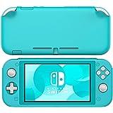 Nintendo Switch Lite ケース ATiC Switch Lite コンソール用 カバー シリコン 耐衝撃 落下防止 防塵 アンチスクラッチ 滑り止め 人間工学 高い操作性 手触り良い 着脱簡単 軽量 Turquoise