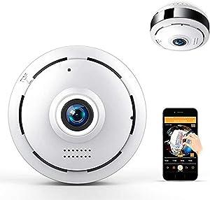 HD Fisheye IP Camera 360 Degree Panoramic Wireless WiFi Camera 960P Home Security Camera 10M IR Night Vision CCTV