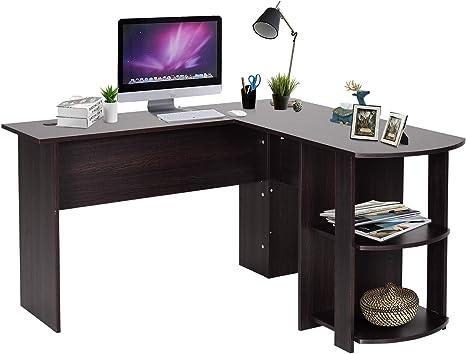 HOMCOM Mesa de Ordenador PC Escritorio para Oficina Hogar Tipo ...