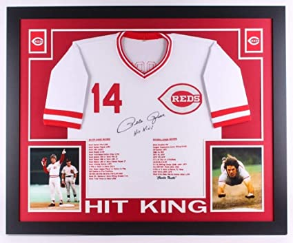 323b3ad80 Image Unavailable. Image not available for. Color  Pete Rose Signed ...