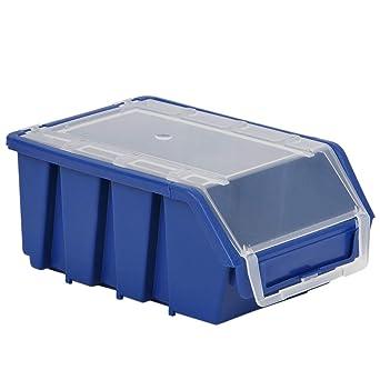 Caja de taller de 1 litro, caja de tornillos, sin polvo, caja de ...