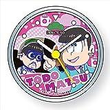 Japanese Comedy Manga Matsuno sextuplets Brothers Osomatsu-san Character Tin Can Clock (Todomatsu)