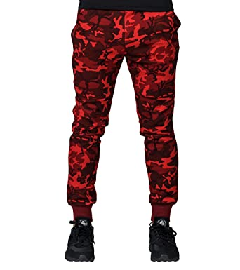 Nike Mens Tech Fleece Red Camo Jogger Pants  Amazon.co.uk  Clothing 09fc4c7c3f
