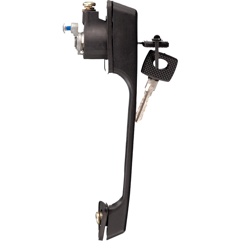 pack of one febi bilstein 17254 Door Handle with barrel lock and key