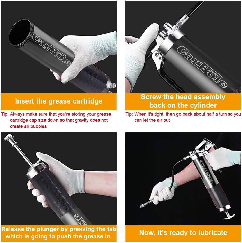 CarBole ingrassatore resistente a pistola 4500-6000 PSI