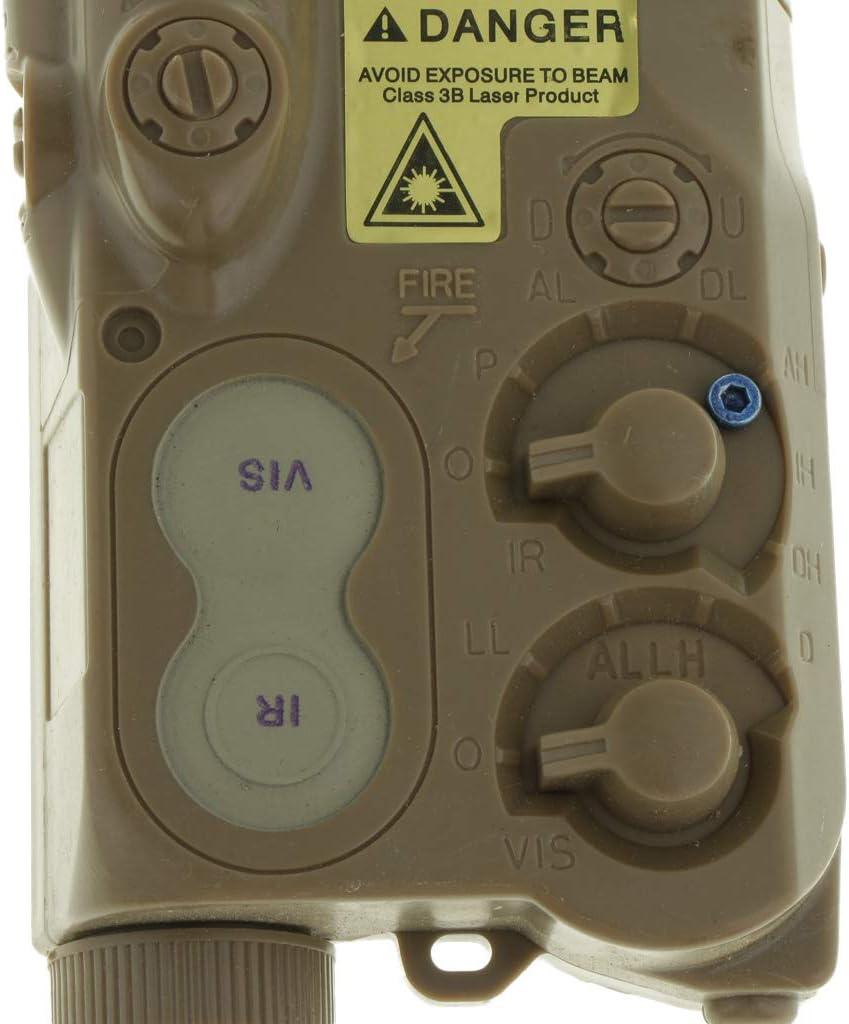Tachiuwa AN//PEQ-16 Dummy Case Battery Storage Box LiPo NiMH for AEG Black//Tan