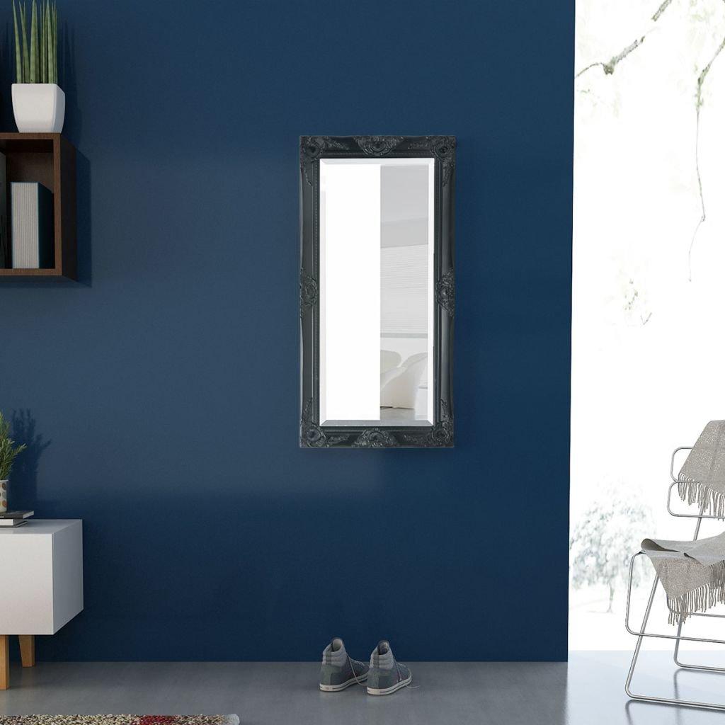 vidaXL Miroir Mural pour Chambre Salle de Bain Style Baroque ...