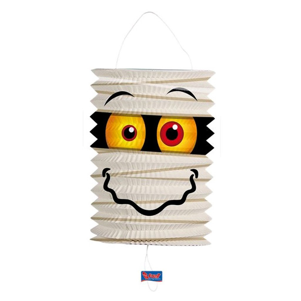 Folat Mummy Lantern for Halloween or Horror Party 16cm with Duchmess FLT-50506