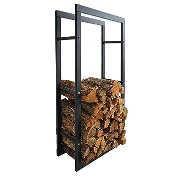 Helo C3 Metall Feuerholzregal 40 X 100 X 25 Cm Fur Innen Und Aussen