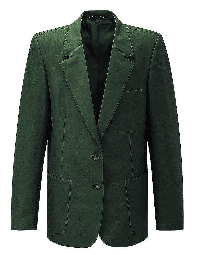 Vert Bouteille la taille de la poitrine en pouces 117 cm Direct Schoolwear Filles école Blazer (Style N ° 7160)
