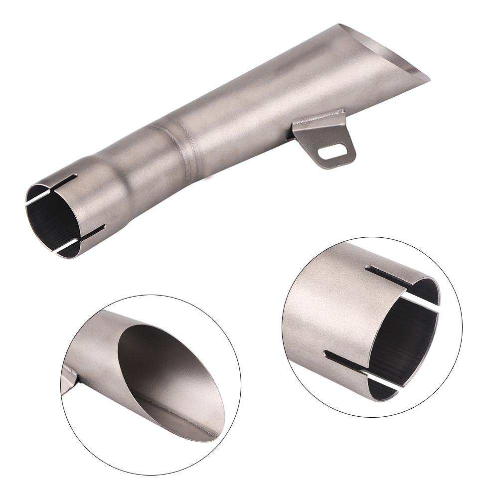 Motorcycle Exhaust Pipe Muffler Tip Universal Muffler Stainless Steel Exhaust Pipe Muffler Blue