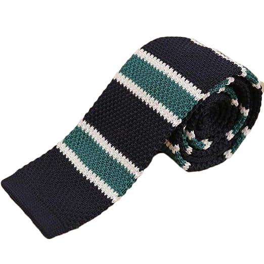 YYB-Tie Corbata Lazo Retro de Lana de Punto de unión de la Moda de ...