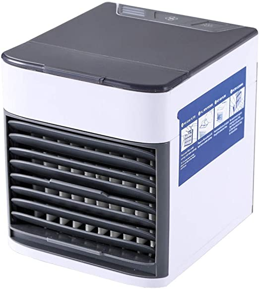 Mini Enfriador Portátil Mini Refrigerador De Aire Ventilador Nebulizador De Pantano Ventilador De Escritorio Humidificador Ventilador For Dormitorio De Oficina Mesita De Noche Aire Acondicionado para: Amazon.es: Hogar