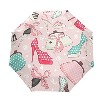 c7c718536db4 Amazon.com: Auto Open Close Travel Sun Umbrellas Women's Shoes And ...