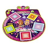 HOMCOM Dance Music Mixer Electronic Musical Play Mat Sensitive Dancing Floor Mat Children Kids Toy Foldable & Adjustabl