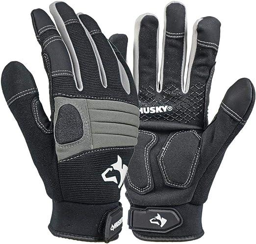 Husky Large New Medium Duty Glove 3 Per Pack Amazon Com