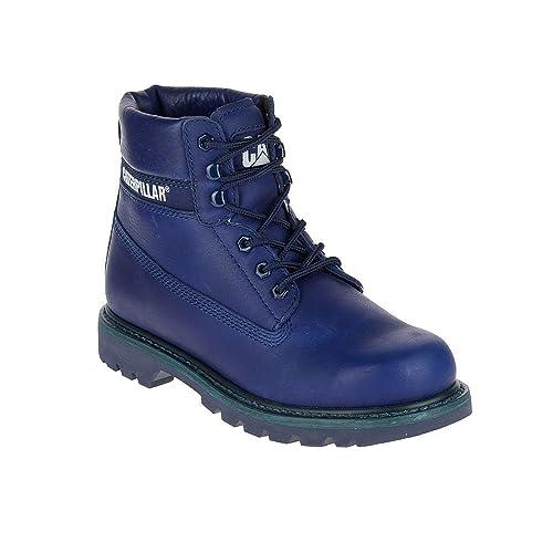 Caterpillar - Botas Hombre, Color Azul, Talla 44 EU: Amazon.es: Zapatos y complementos