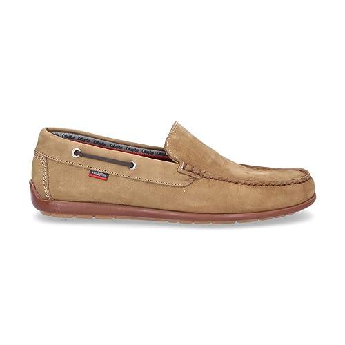 Callaghan Hombre 87905Beige Beige Gamuza Mocasín: Amazon.es: Zapatos y complementos