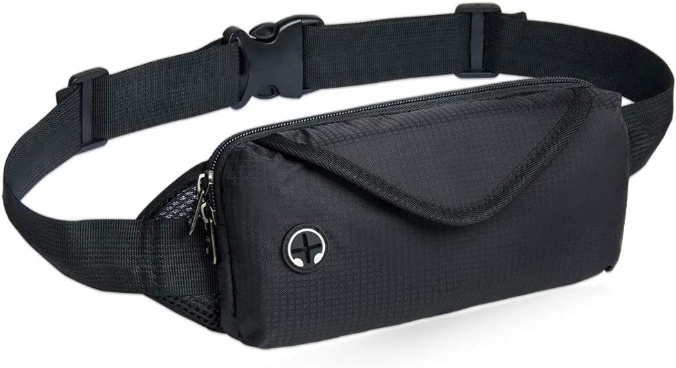 NZII Casual Fanny Pack, Sport Chest Bag, Bum Bag for Men Women, Outdoor Running Cycling Traveling