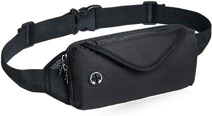 Jogging Cycling Hiking Traveling NZII Sport Fanny Pack Water Resistant Lightweight Bum Bag Men Women Running Waist Pack Bag