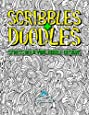 Scribbles & Doodles: Stress Relieving Doodle Designs (Colouring Books For Adults Relaxation & Art Therapy Coloring)