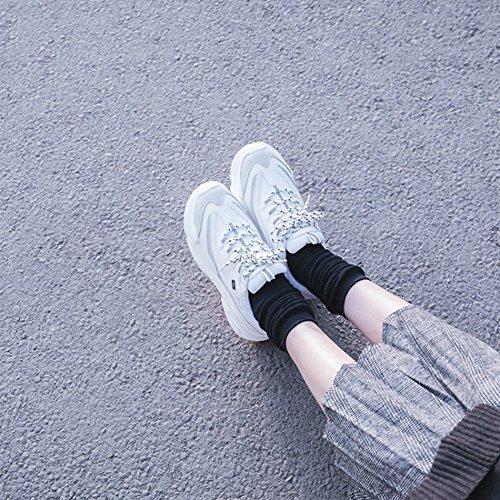 40 Four para Zapatos Colores tamaño de Zapatillas Mujer Mujer de Informales Zapatillas Seasons para Mezclados Blanco Zapatos Deporte Deporte Color zHxqFEg