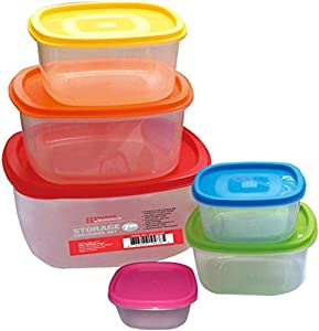 Home Basics 7Piece Container Set with Lids,