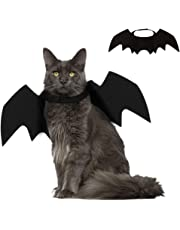 SEALEN Pet Bat Wings Costume for Cat Puppy Small Dog, Adjustable Pet Apparel, Cat Costume Accessory for Cosplay Party