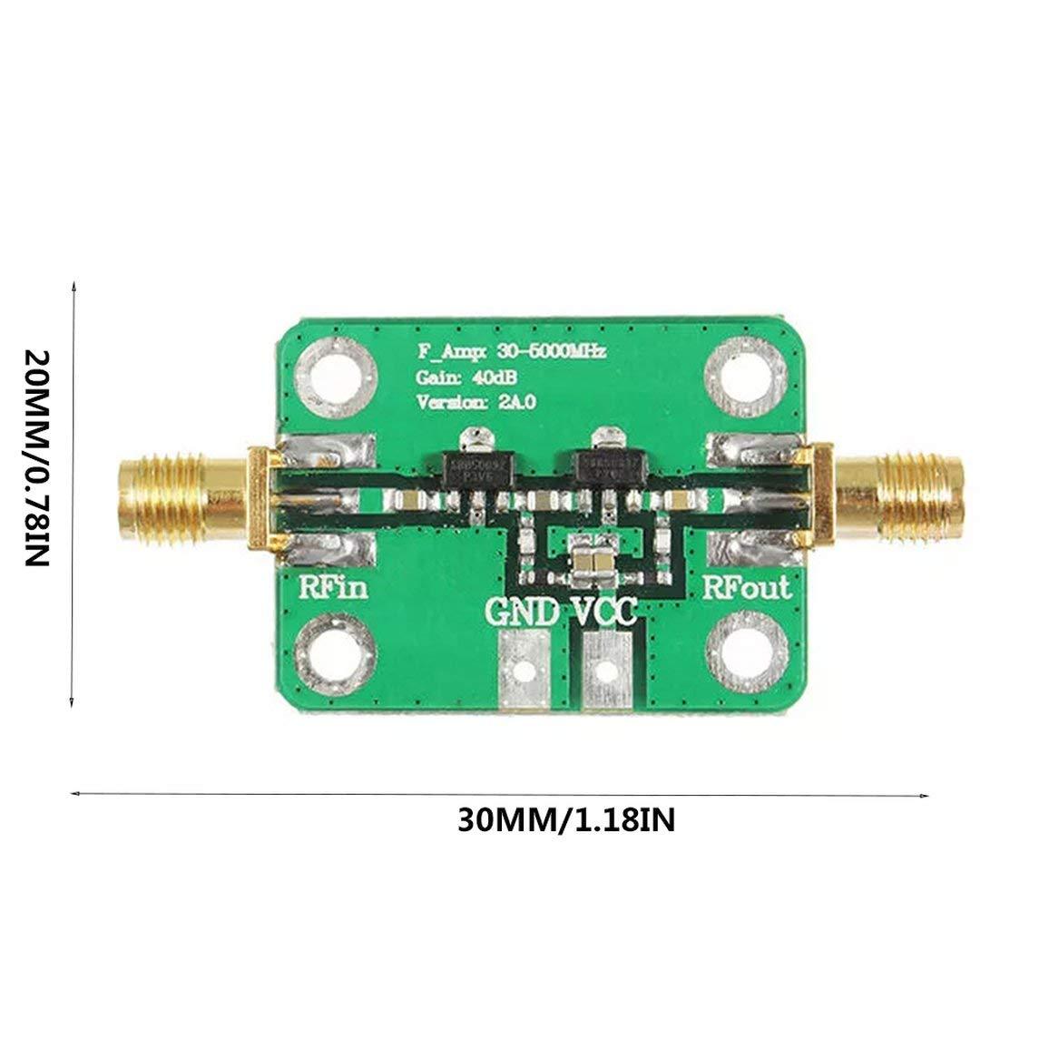 YXTFN 30-4000Mhz 40Db Gain Rf Broadband Amplifier Module for Fm Hf VHF/Uhf 50Ω UBS by Magicalworld (Image #7)