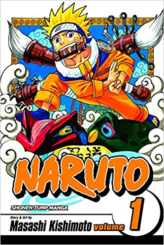 Image result for naruto vol. 1