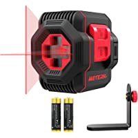 Meterk Switchable Self-leveling Vertical and Horizontal Line Laser Level