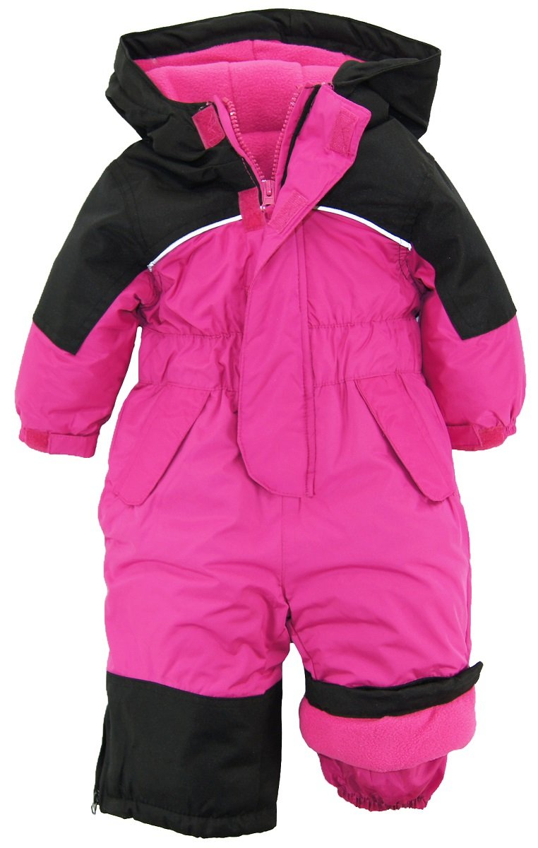 iXtreme Baby Girls' One Piece Snowmobile, Berry, 12 Months by iXtreme (Image #1)