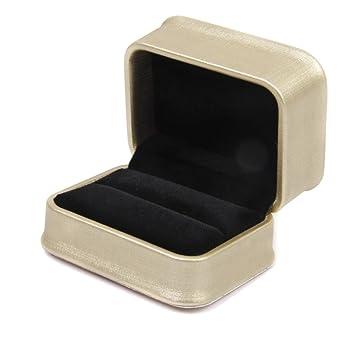 Amazoncom Double Rings Bearer Box Storage Case Wedding Ceremony