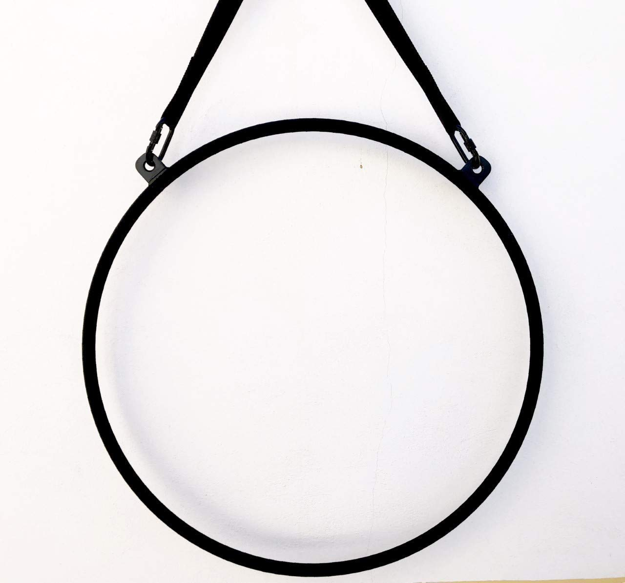 Aro aéreo acrobático,aerial hoop,lira para hacer acrobacias aéreas como en telas de yoga,pilates,para acróbatas de circo,lyra,trapecios,etc...