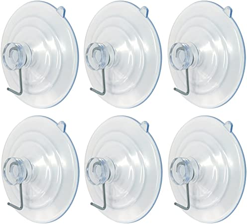 """Suction Utility Hooks Cup Alamic 2 1//2/"""" Ultra Strong Large Wall Hangers All"""