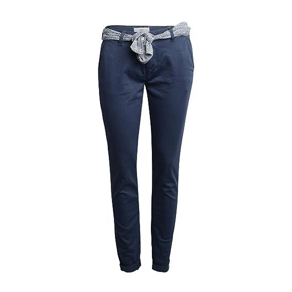 recherche d'officiel Royaume-Uni en présentant Le Temps des Cerises Femme Pantalon Chino Vert Bleu: Amazon ...