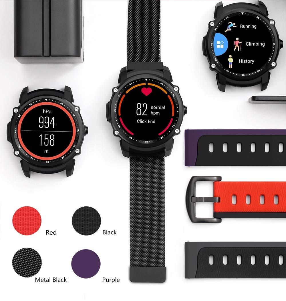 FEIFEI Reloj Inteligente Monitor de frecuencia cardíaca a Prueba ...