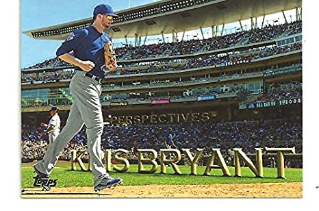 Kris Bryant Perspectives Collectible Baseball Card 2016 Topps