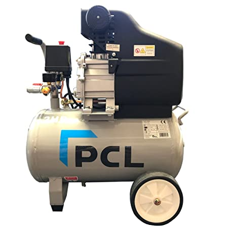 PCL 2 5HP 24LTR Direct Drive Twin Outlet Air Compressor 240V