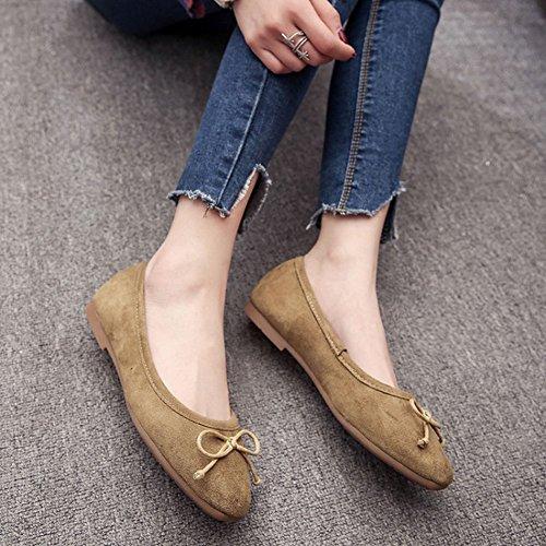 Mujer Planos Vacaciones Verano Zapatos Cómodo Verde Bailarinas Moda Chancleta Casual Náuticos Sandalias Zapatillas fzRwWqdf1
